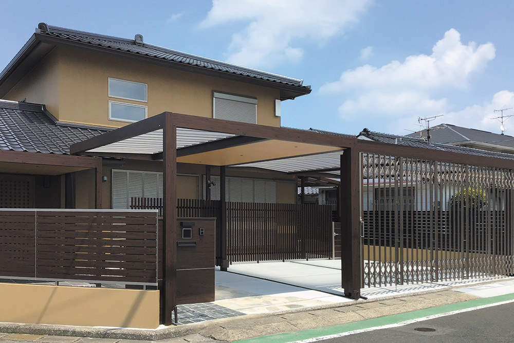 住宅エクステリア部門 入選 / 株式会社 遠見 様(福岡県)